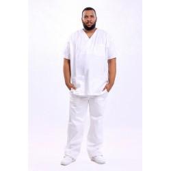 Bluza pantalone bele
